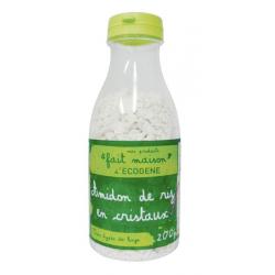 Amidon de riz en cristaux - flacon 200 g