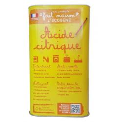 Acide citrique fm - boîte 1 kg