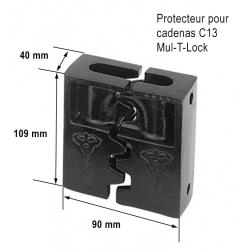 Protecteur pour cadenas C13 MUL-T-LOCK