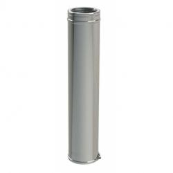 Conduit double paroi isolé 1000mm DUOTEN 180-230mm avec bride