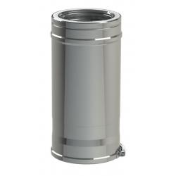 CONDUIT REGLABLE DUO INOX316/I304 180-230