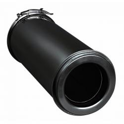 Conduit de finition laqué noir diamètre 180-230mm