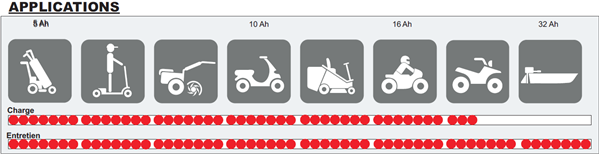 Chargeur de moto, quad, vélo électrique, motoculteur, électrificateur de clotures