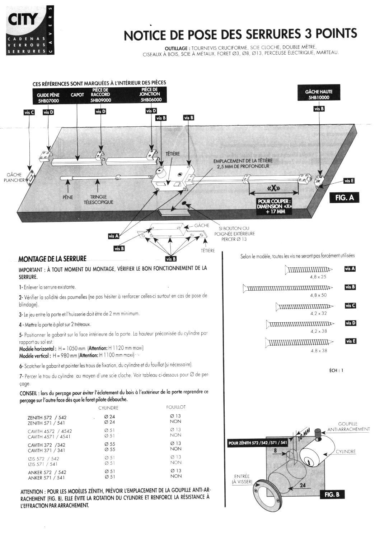 Montage serrure interesting montage duune serrure versus for Garage bmw boulogne