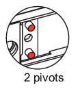 volet roulant 2 pivots