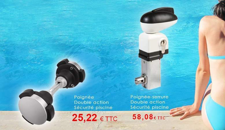 A partir de 25,22 € pour sécuriser votre serrure l'accès à la piscine