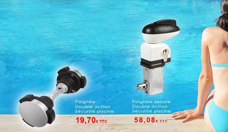 A partir de 24,62 € pour sécuriser votre serrure l'accès à la piscine